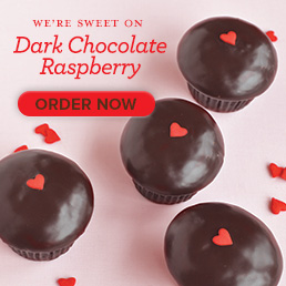 We're sweet on Dark Chocolate Raspberry