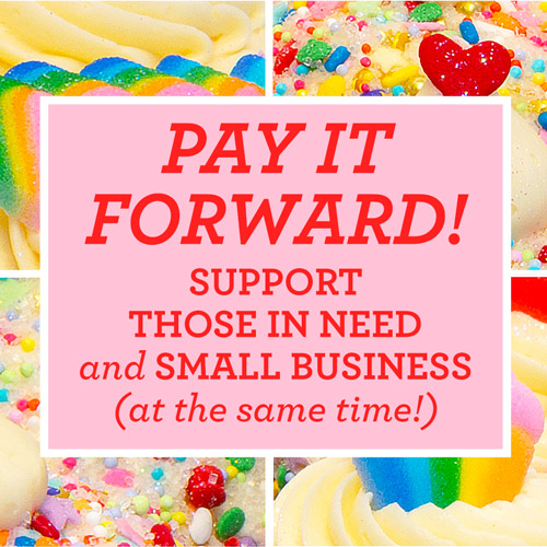 Pay It Forward with Cupcakes