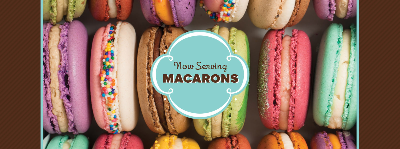 Now Serving Macarons