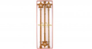 Gold Star Swizzle Sticks