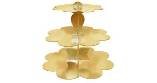 Gold Treat Stand