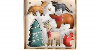 Forest Holiday Cookie Cutters