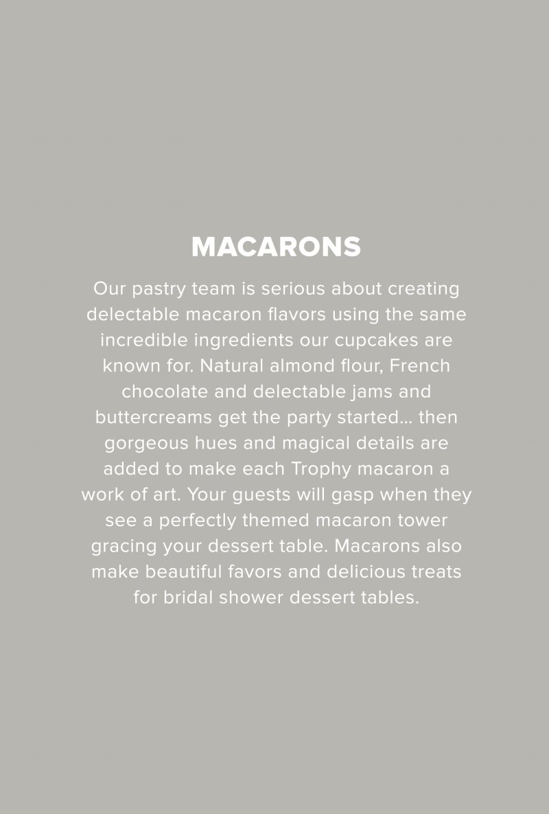 Macarons Text