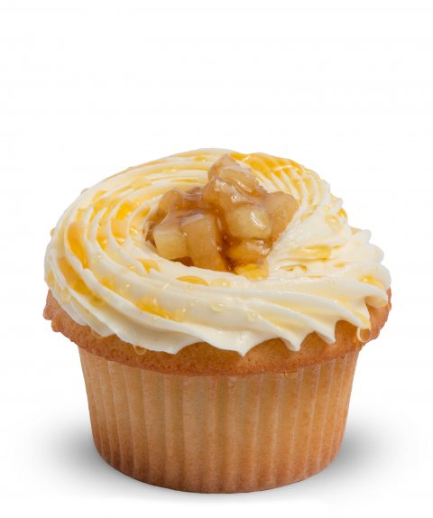 Apples and Honey Cupcake
