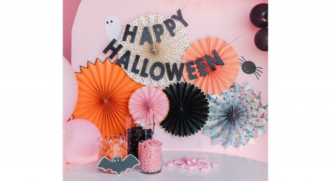 Happy Haunting Party Fans Details