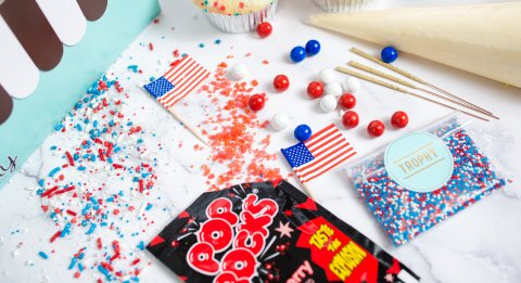 Decorate Your Own 4th of july  detail