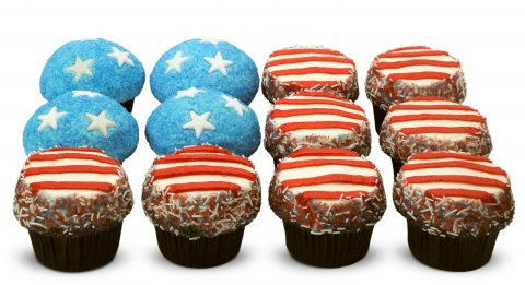 Stars and Stripes Cupcakes