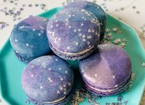 Milky Way Galaxy Macarons