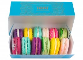 Baker's Choice Macarons - 12 Box