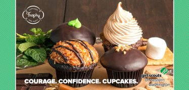 Courage. Confidence. Cupcakes. Girl Scouts of Western Washington