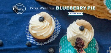 Blueberry Pie Cupcakes