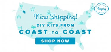 Now Shipping DIY Kits Nation Wide
