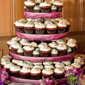 Weddings Trophy Cupcakes Party