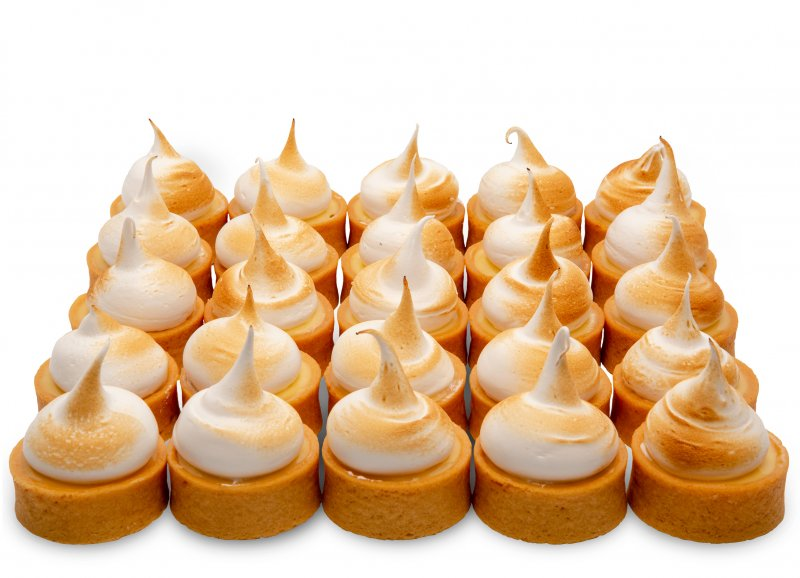 Lemon Meringue Tart Bites