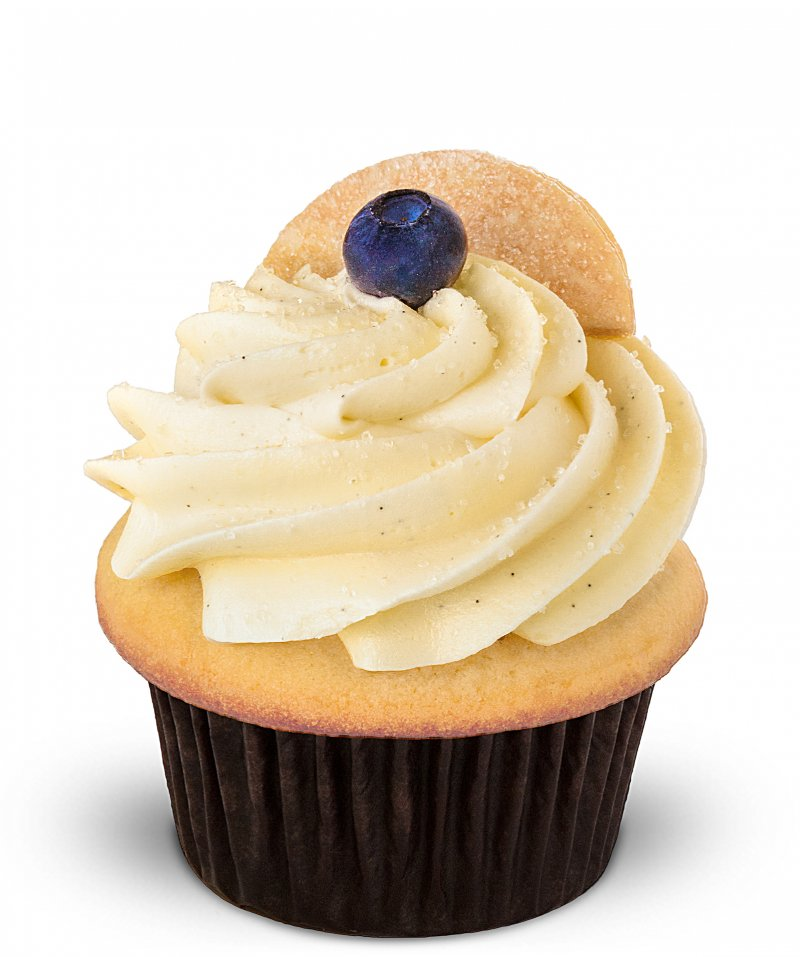 Blueberry Pie Cupcake