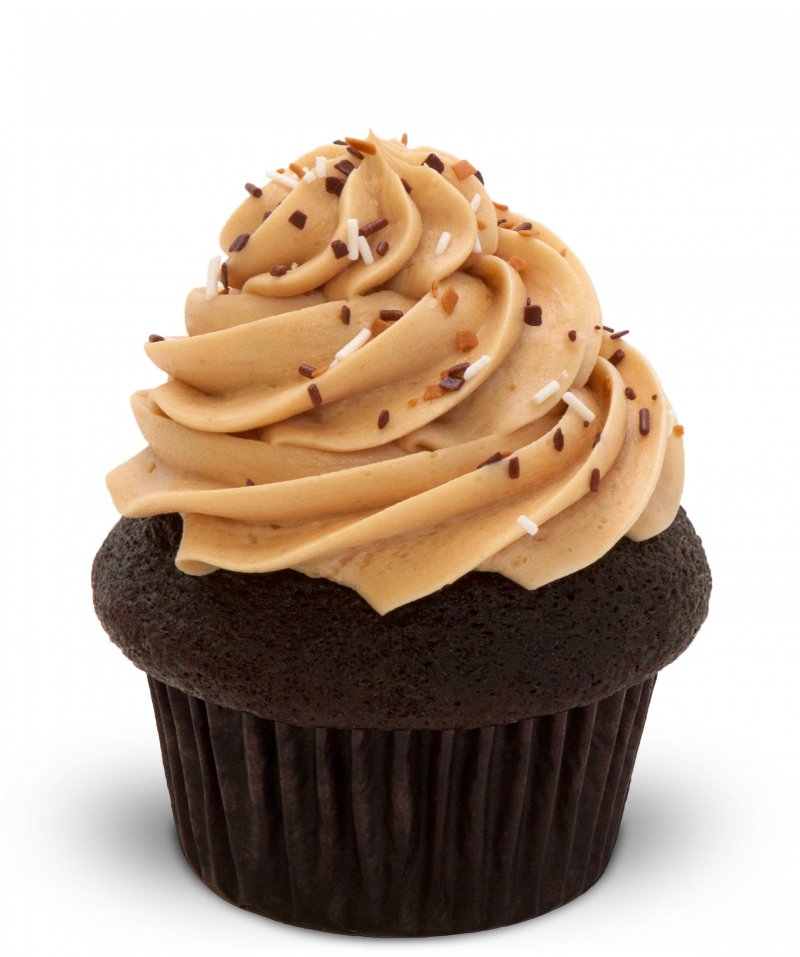 Chocolate Espresso Bean Cupcake