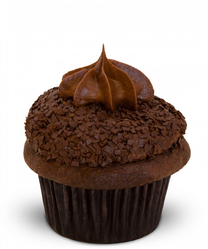 Gluten Free Triple Chocolate Cupcake