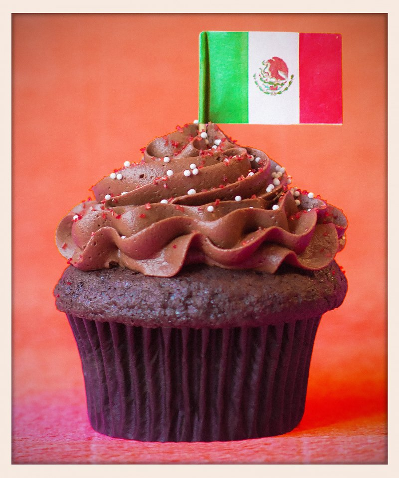 Mexican Hot Chocolate Cupcake