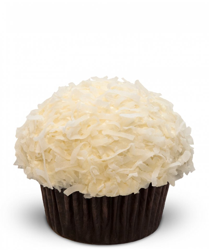 Triple Coconut Cupcake