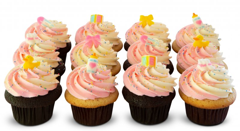 Baby Shower Cupcakes - It's a Girl