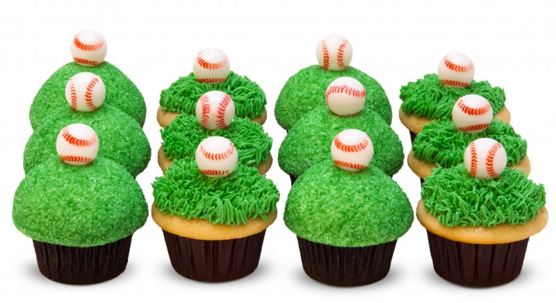 Baseball Lovers Cupcakes