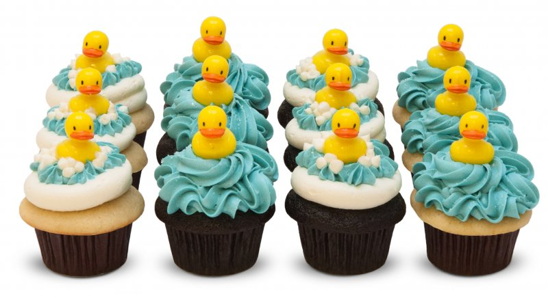 Darling Duck Cupcakes