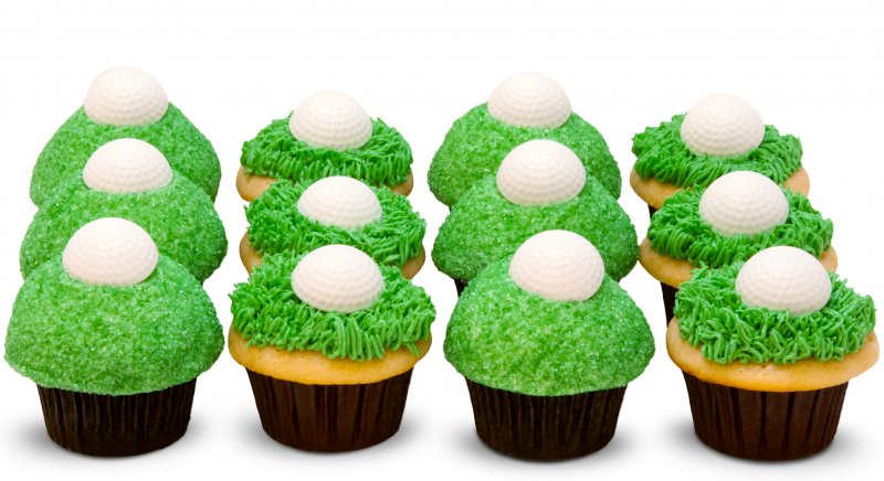 Golf Lovers Cupcakes