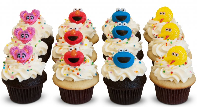 Muppet Madness Cupcakes