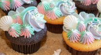 Mermaid Cupcakes Detail