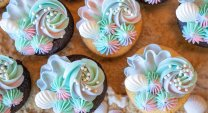 Mermaid Cupcakes Detail 2