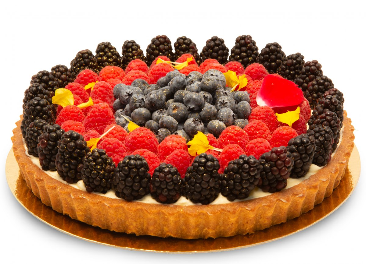 Fresh Fruit Mascarpone Tart
