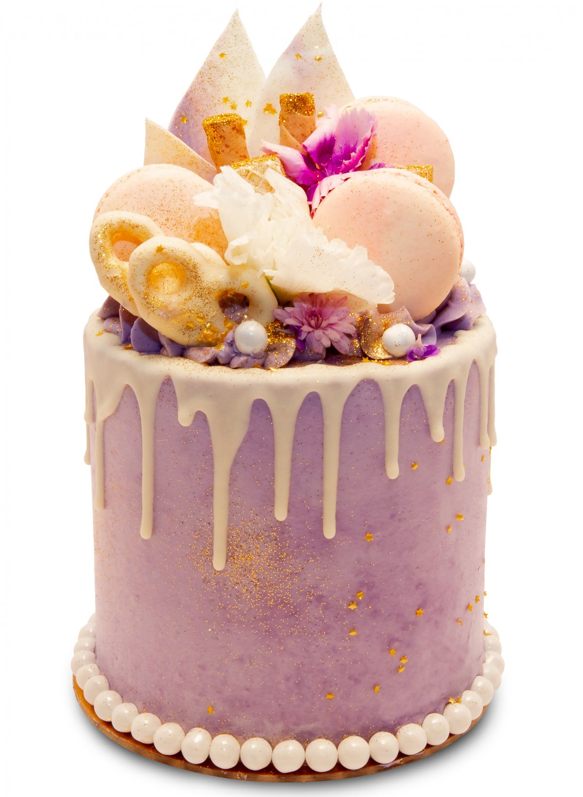 Lux Lilac Chocolate Vanilla Cake