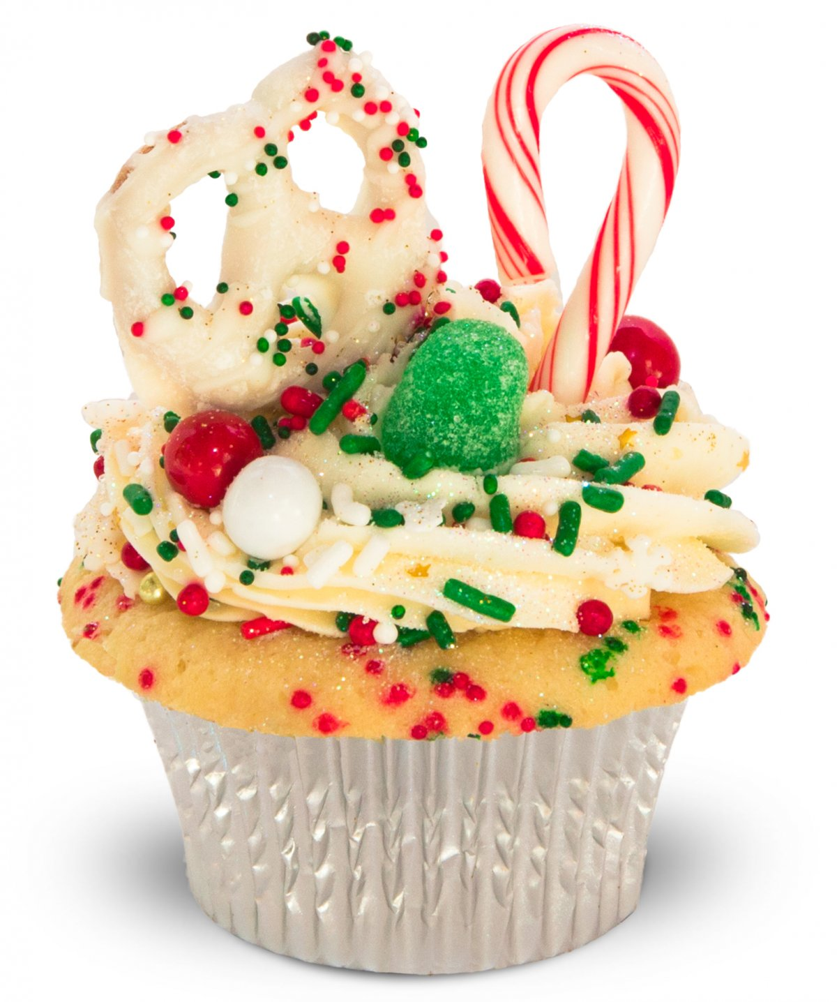 Holiday Yumfetti Cupcake