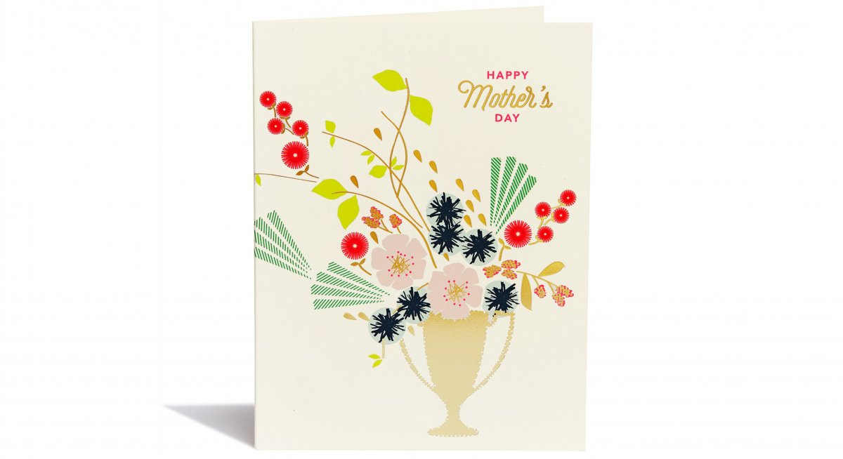 Happy Mother's Day Trophy Card
