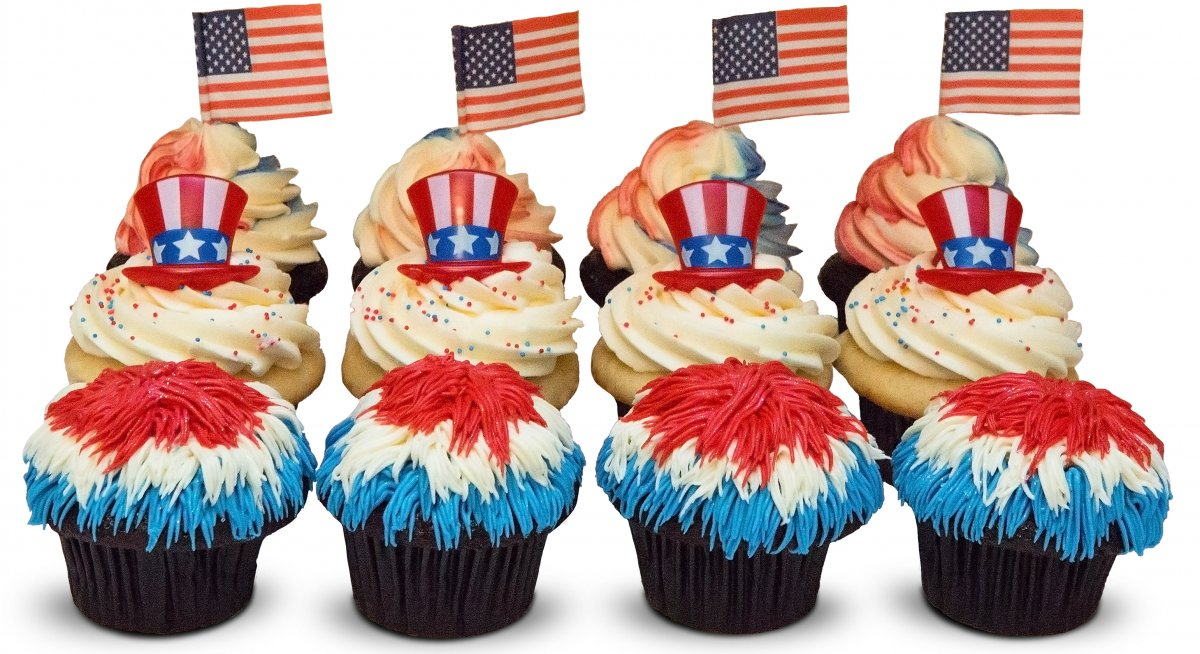 4th of July - Fireworks Cupcakes