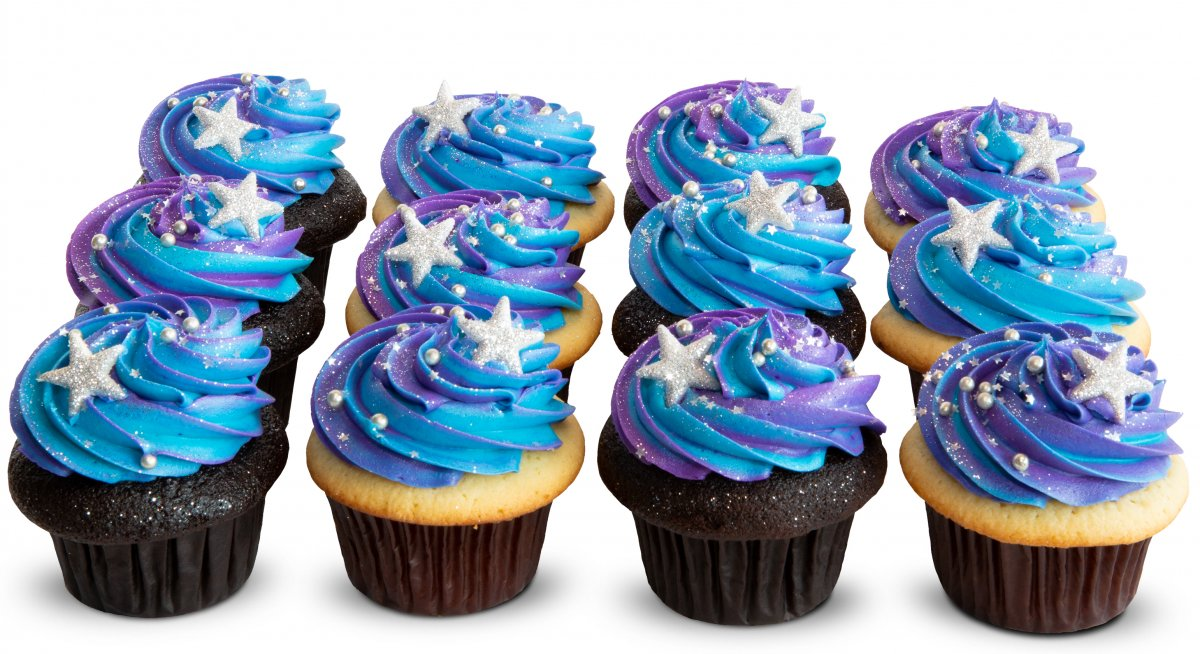 Stary Galaxy Cupcakes