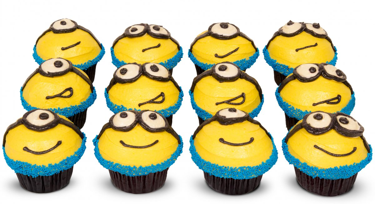 Minion - Despicable Me Cupcakes