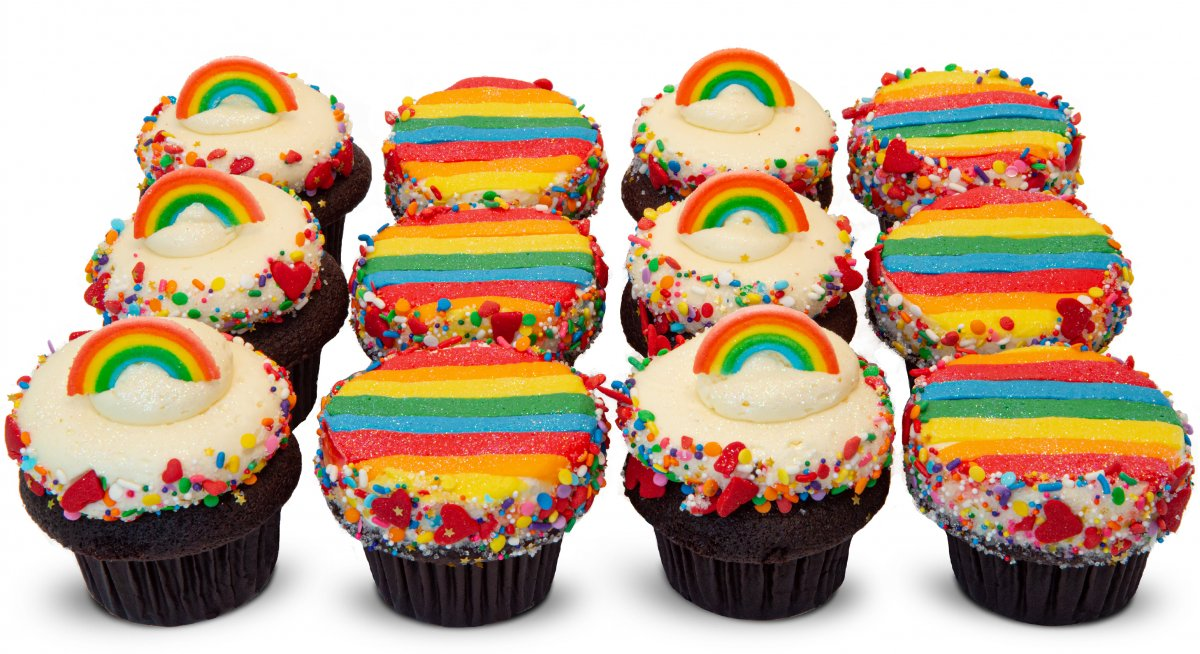 Pride Party Dozen Cupcakes